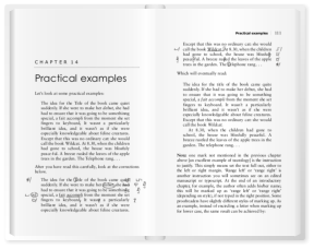 The Pocket Book of Proofreading open at pages 110–111