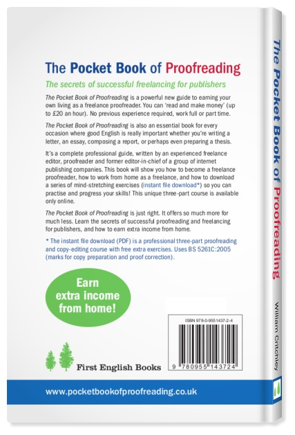 Work from home editor proofreader