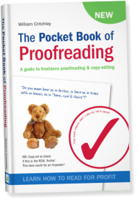 Cover of the Pocket Book of Proofreading